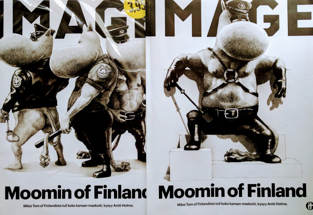 Moomin of Finland Image kannet
